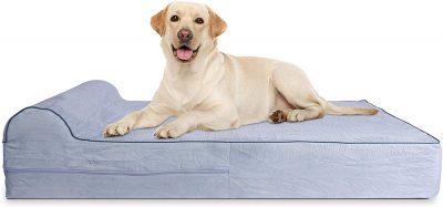Letto ortopedico per cani in memory foam KOPEKS